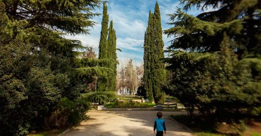 Criança no Parque Quinta Normal