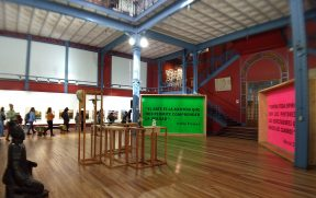 Primeiro andar do Museu Artequin