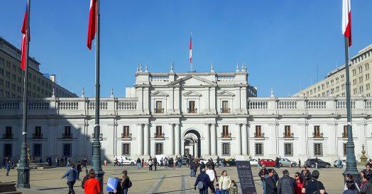 Plaza de la Contitución e Palácio de la Moneda
