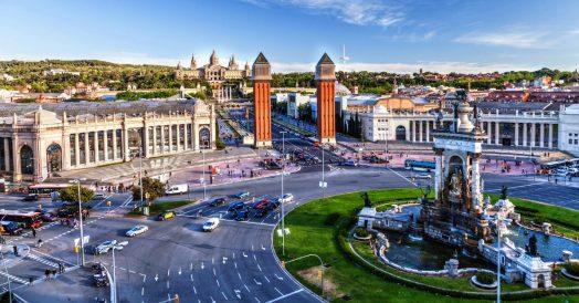 Plaça de Espanya em Barcelona
