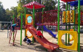 Área Infantil no Parque Quinta Normal