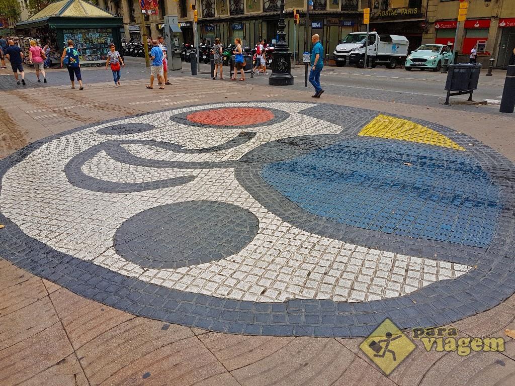 Mosaico de Miró