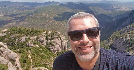 Mirador dos Apóstolos em Montserrat