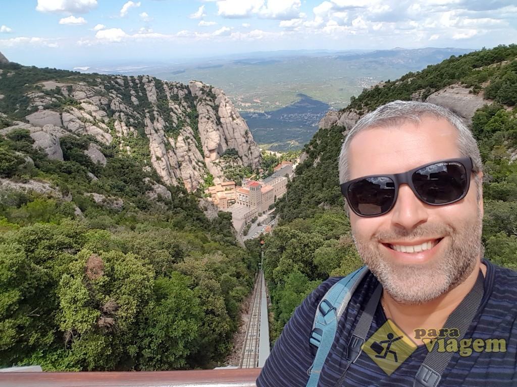 Mirante de Sant Joan em Montserrat