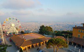 Vista panorâmica da cidade de Barcelona