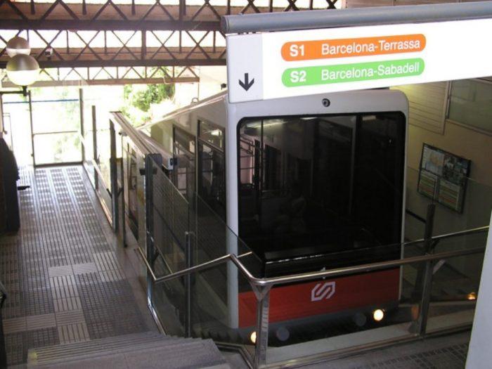 Plataforma do funicular