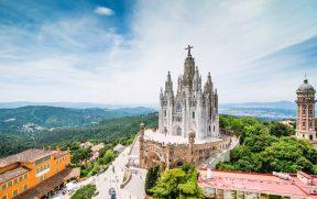 Templo Expiratório do Sagrado Coração de Jesus em Barcelona