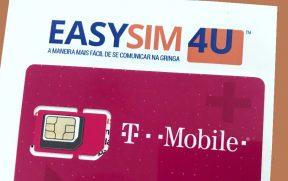 Chip da T-Mobile revendido pela EasySim4U