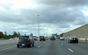 Estrada entre Toronto e Niagara Falls