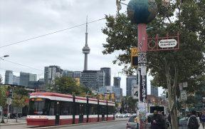 Bonde em Toronto