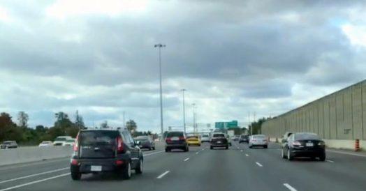 Estrada para Niagara Falls (QEW)