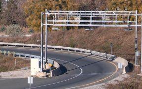 O pedágio eletrônico da Highway 407