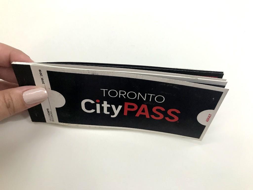 O Toronto CityPASS é um carnê de ingressos
