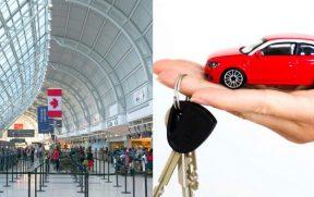 Retirando e Devolvendo um Carro Alugado no Aeroporto Toronto Pearson