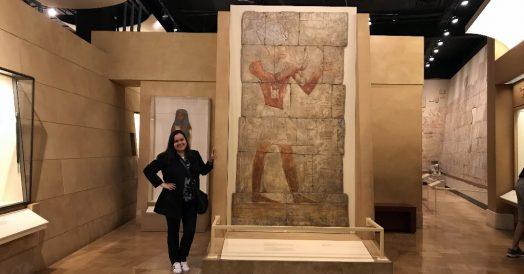 Mosaicos egípcios do ROM
