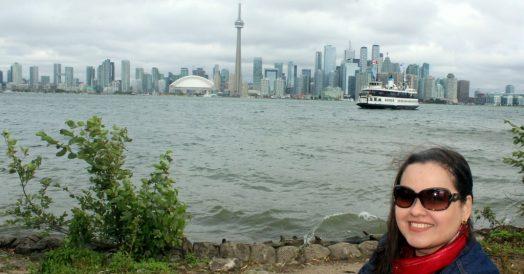 Skyline de Toronto visto da Centre Island