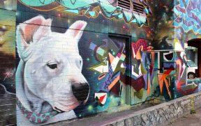 Graffiti Alley em Toronto