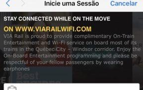Acesso ao Wi-Fi no celular