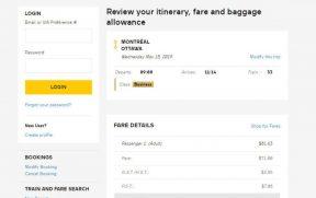 Confira o seu itinerário e o preço final