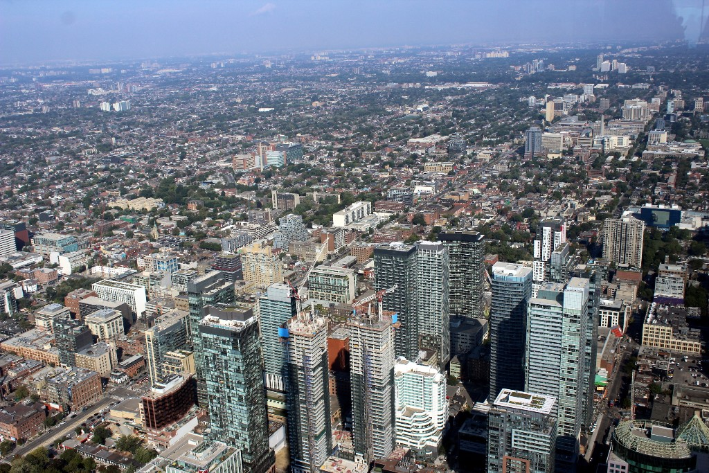 Vista de Toronto a partir do LookOut Level