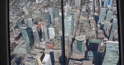 Vista de Toronto a partir do SkyPod