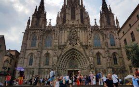 Catedral de Barcelona no Bairro Gótico