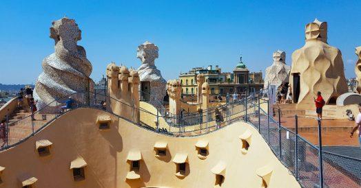 O que fazer em Barcelona: Terraço da Casa Milá