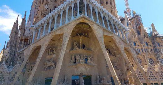 La Sagrada Familia: Fachada da Paixão de Cristo