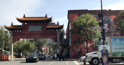 Um dos portais do Chinatown de Montreal