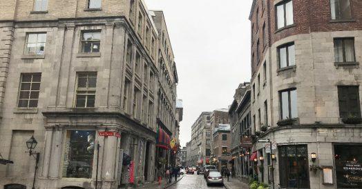 Rue Saint-Paul em Montreal