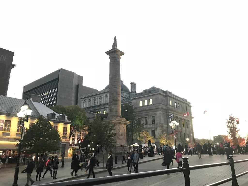 Coluna Nelson de Montreal