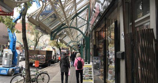 Rue Saint-Hubert em Montreal