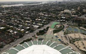 Uma das vistas do terraço da Tour de Montréal
