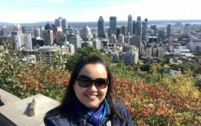 Ótima vista de Montreal