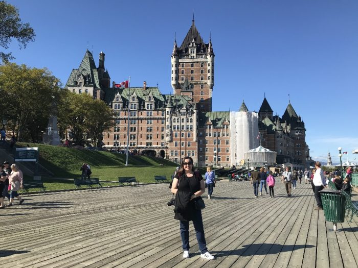 Chateau Fontenac em Quebec