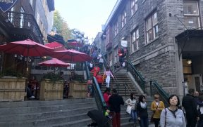 Escalier Casse-Cou em Quebec