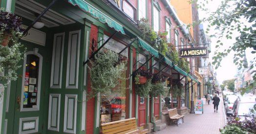 Rue Saint-Jean em Quebec