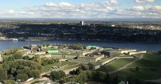 Vista da Citadelle