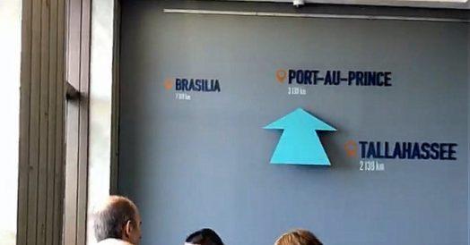 Brasília fica pro sul