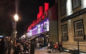 Noite no centro histórico
