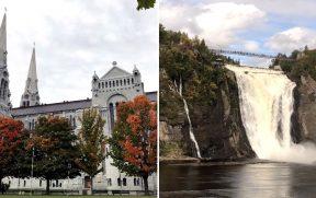 Sainte-Anne-de-Beaupré + Catarata Montmorency: Roteiro de 1 Dia a Partir de Quebec