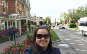 Avenida principal de Niagara-on-the-Lake