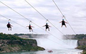 Zipline to the Falls (Tirolesa)