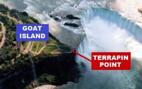 Goat Island e Terrapin Point