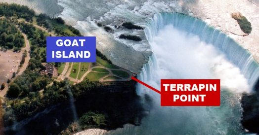 Goat Island e Terrapin Point