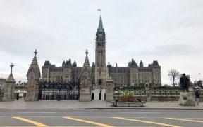 Parliament Hill - a colina onde está o Parlamento