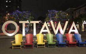 Outro letreiro de Ottawa em ByWard Market