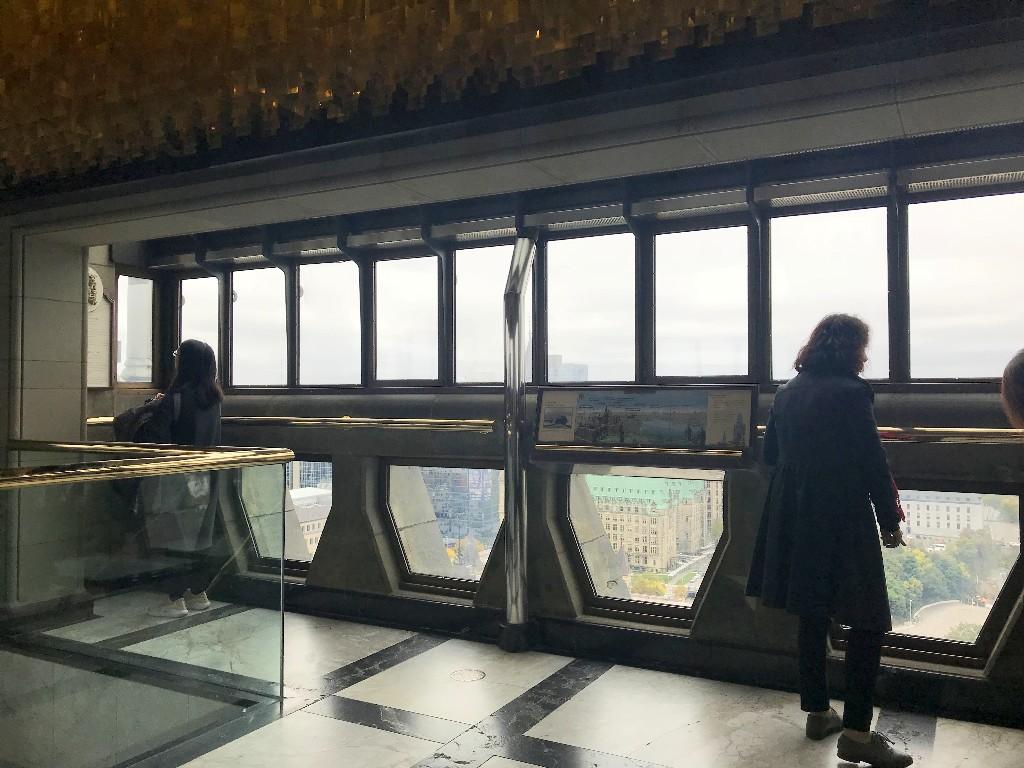 Mirante na Peace Tower em Ottawa
