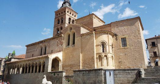 Igreja de San Martin em Segóvia