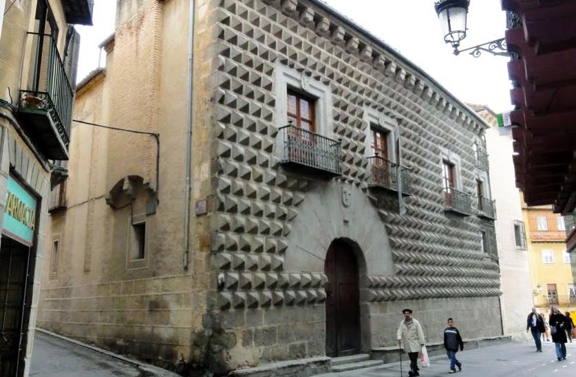 Casa de los Picos em Segóvia